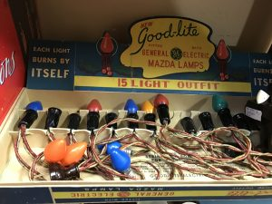 Nothing beats old-school Christmas Lights! You can find these at Mama's Treasures.